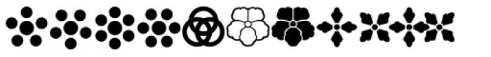 Magneta Ornaments Font LOWERCASE