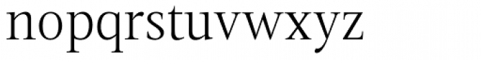 Magneta Thin Font LOWERCASE