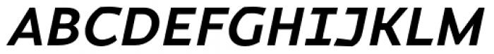 Magnetic Pro Bold Italic Font UPPERCASE