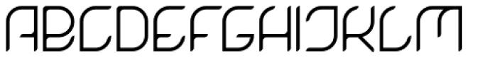 Magnetica Regular Font UPPERCASE