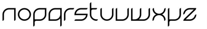Magnetica Regular Font LOWERCASE