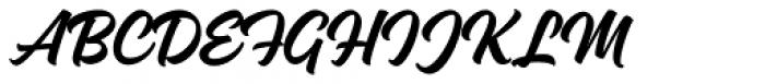 Magneton Bold Slanted Font UPPERCASE