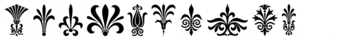 Magnificent Ornaments Font OTHER CHARS