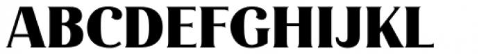 Magnolia Alt Black Font UPPERCASE