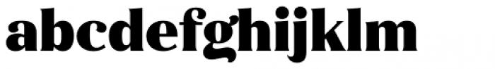 Magnolia Alt Black Font LOWERCASE