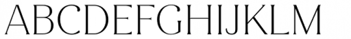 Magnolia Alt Extra Light Font UPPERCASE