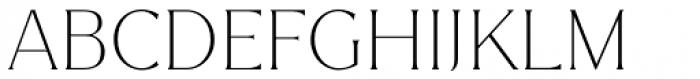 Magnolia Thin Font UPPERCASE