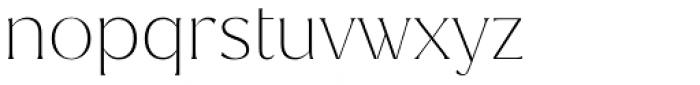 Magnolia Thin Font LOWERCASE