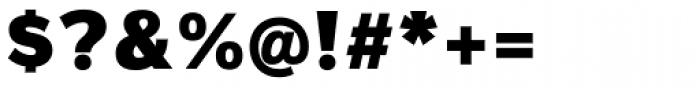 Magnum Sans Alfa Black Font OTHER CHARS