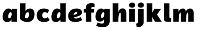 Magnum Sans Alfa Black Font LOWERCASE
