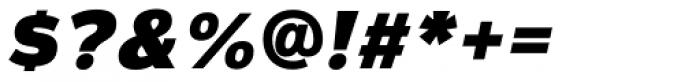 Magnum Sans Extra Black Italic Font OTHER CHARS