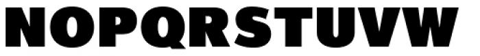 Magnum Sans Extra Black Font UPPERCASE