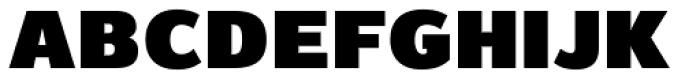 Magnum Sans Extra Black Font LOWERCASE