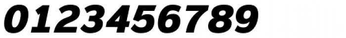 Magnum Sans Heavy Oblique Font OTHER CHARS