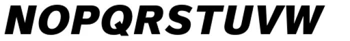 Magnum Sans Heavy Oblique Font UPPERCASE