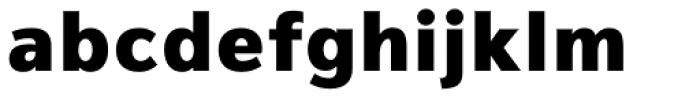Magnum Sans Heavy Font LOWERCASE
