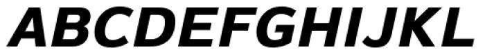Magnum Sans Pro Extra Bold Oblique Font UPPERCASE