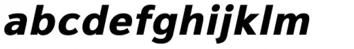 Magnum Sans Pro Extra Bold Oblique Font LOWERCASE