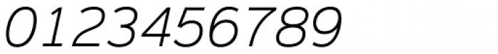Magnum Sans Pro Extra Light Oblique Font OTHER CHARS