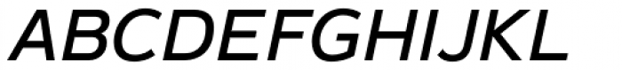 Magnum Sans Pro Medium Oblique Font UPPERCASE
