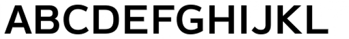 Magnum Sans Semi Bold Font UPPERCASE
