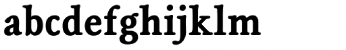 Magpie Bold Font LOWERCASE