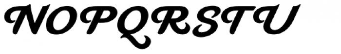 Mahalia Bold Font UPPERCASE