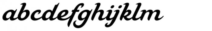 Mahalia Font LOWERCASE