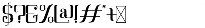 Mahaputra Regular Font OTHER CHARS