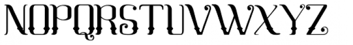 Mahaputra Regular Font UPPERCASE