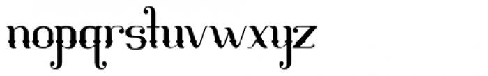 Mahaputra Regular Font LOWERCASE