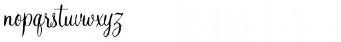 Mahogany Script Std Regular Font LOWERCASE