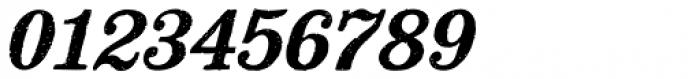 Mailart Rubberstamp Bold Oblique Font OTHER CHARS