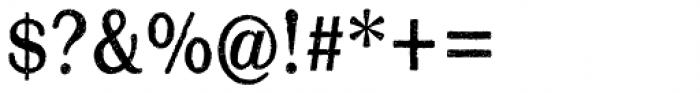 Mailart Rubberstamp Sans Font OTHER CHARS