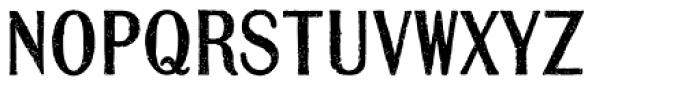 Mailart Rubberstamp Sans Font UPPERCASE