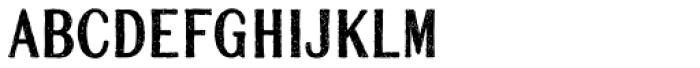 Mailart Rubberstamp Sans Font LOWERCASE