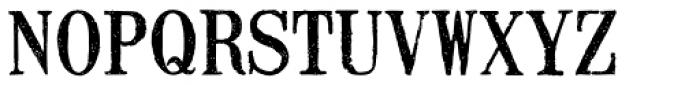 Mailart Rubberstamp Font UPPERCASE