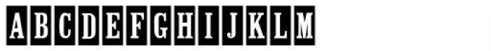Mailbox Letters JNL Font LOWERCASE