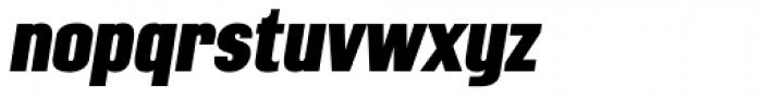 Mailuna Pro AOE Black Oblique Font LOWERCASE