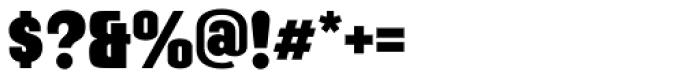 Mailuna Pro AOE Black Font OTHER CHARS
