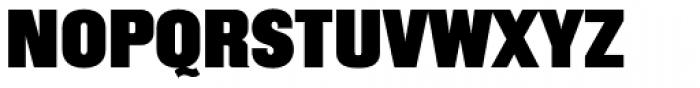 Mailuna Pro AOE Black Font UPPERCASE