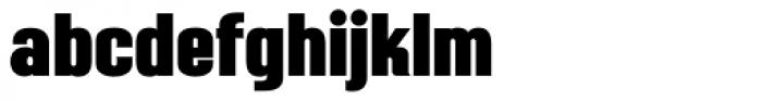 Mailuna Pro AOE Black Font LOWERCASE