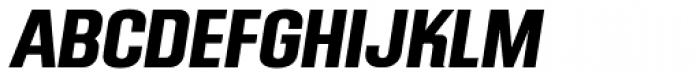 Mailuna Pro AOE Bold Oblique Font UPPERCASE