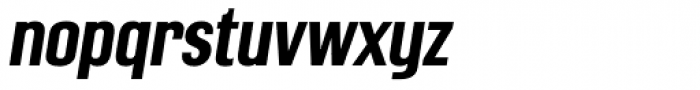 Mailuna Pro AOE Bold Oblique Font LOWERCASE