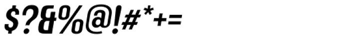 Mailuna Pro AOE Medium Oblique Font OTHER CHARS