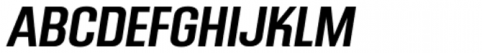 Mailuna Pro AOE Medium Oblique Font UPPERCASE