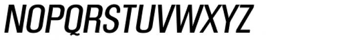 Mailuna Pro AOE Oblique Font UPPERCASE