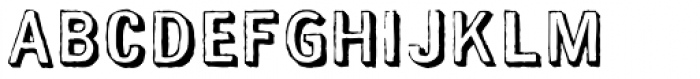 Maim Gutted Font LOWERCASE