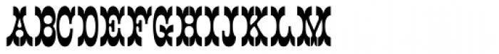 Main Street Black Font UPPERCASE