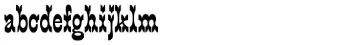 Main Street Black Font LOWERCASE